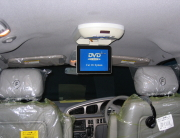 Fourways Car Security & Sound DVD Drop Down Panel Installation