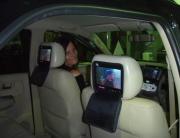 Fourways Car Security & Sound DVD Headrest Set