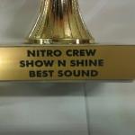 Fourways Car Security & Sound Nitro Crew Award